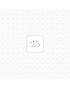 Giorno Festivo 25 silver 33x33 3-lags