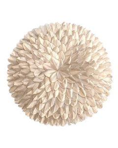 Juju Rosette fjer Ø40cm - Guld