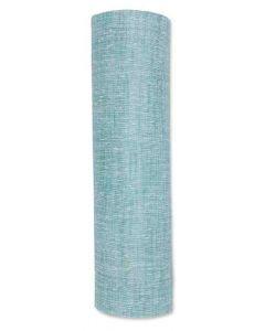 Linen Bordløber 4m - Jade Grøn