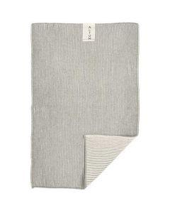 Altum Håndklæde Strikket 60x40cm - Mørkegrå