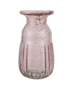 Hyacintvase pebbled glas - Rosa