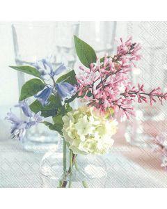 IHR Frokostserviet 33x33cm 20stk - Petit Bouquet