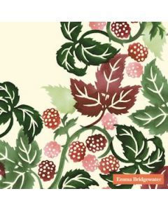 Emma Bridgewater Blackberries Creme 33x33 3-lags serviet 20stk
