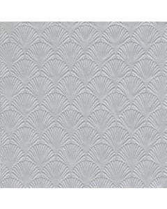 IHR Manon Silver serviet 33x33cm 16stk