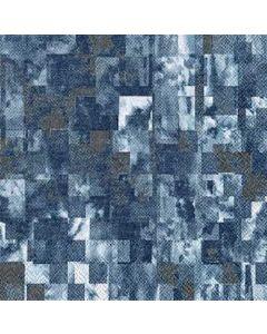IHR Illusion Blue 33x33 serviet 20stk