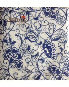 Sovie home tekstil serviet  - 40x40 cm - 12 stk Liv royalblå