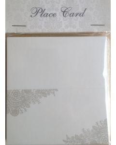 Bordkort  - 25 stk - med print