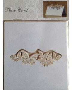 Bordkort  - 10 stk - med små sommerfugle