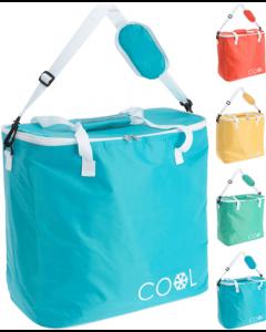 Ensfarvet køletaske - 24 liter