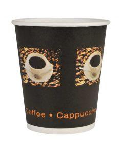 Kaffebæger sort 24cl - 50stk
