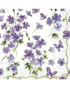 IHR kaffeserviet 24x24 20stk - Purple Spring
