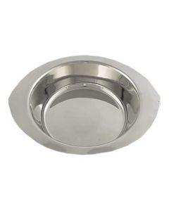 Kartoffelskål stål 23x19,5x4,5cm