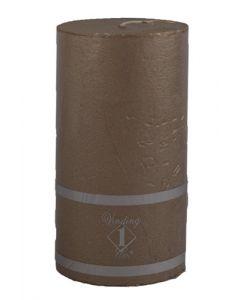 Rustik Bloklys 7x8,5 cm - kobber