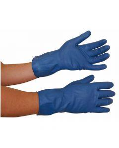 Husholdningshandske latex - Blå