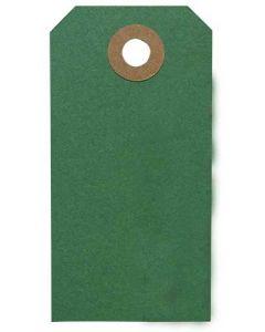 Manilla 50stk Mørkegrøn - 8x4cm