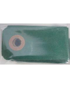 Manilla - 50 stk - Mørkegrøn-Jægergrøn - 6x3cm
