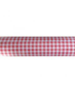 Mank bordløber Robin rød tern 0,4x24m
