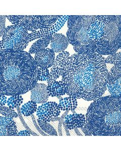 Marimekko Frokostserviet 33x33cm 3-lags 20stk - Mynsteri Blå
