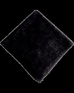 Microfiberklud 40x40cm sort