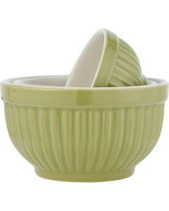 Mynte Bowlesæt Mini Herbal Green - 3stk