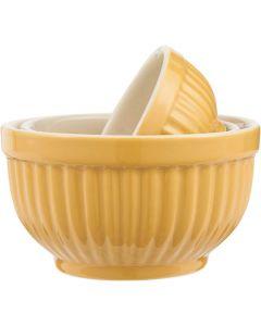Mynte Bowlesæt Mini Mustard - 3stk