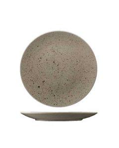 Stentøj tallerken 27cm - Natur