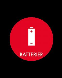 Piktogram - Batterier