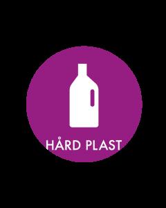 Piktogram - Hård Plast