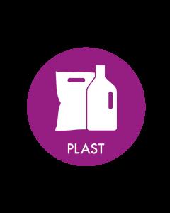 Piktogram - Plast