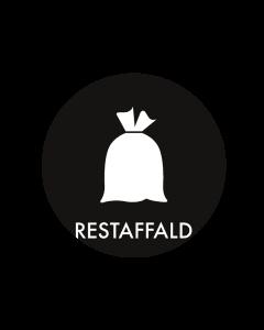 Piktogram - Restaffald