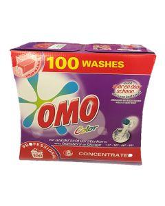 Omo flydende vaskemiddel - Farvet tøj - 7,5L