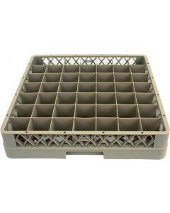 Opvaskebakke inkl inddeling - 50x50 cm - Grå