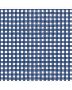 Papirdug 50m - Pepita tern Blå/hvid