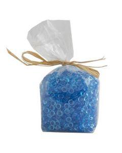 Plastikperler 130g - Blå