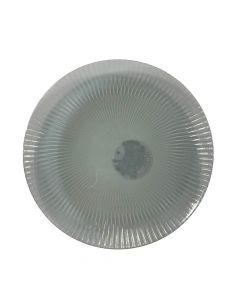 Plasttallerken Ø20cm - Grøn