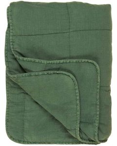 Quilt tæppe - Grøn
