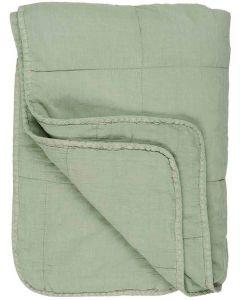 Quilt tæppe - Lysegrøn