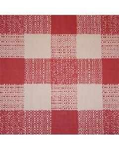 Papirdug 50m - Store tern Rød/hvid