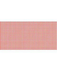 Mank papirdug stofligende 25m tern rød/hvid