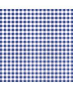 Stikdug  tern - blå/hvid - 80 x 80cm
