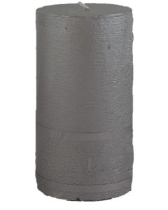Rustik Bloklys 7x8,5 cm - sølv