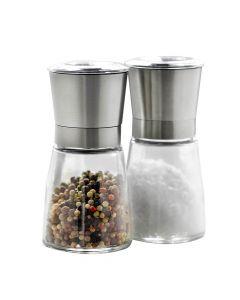 Steel Function salt og pebersæt - Glas