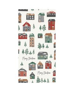 Ib Laursen serviet 40x40cm Foldet Merry Christmas 3lags 16stk
