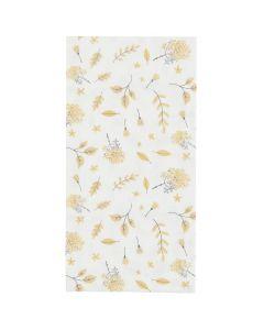 Ib Laursen middagsserviet 40x40 16stk - Yellow Leaves