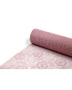 Sizolace Rose 30cm x 5m - støv rosa