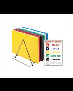 Skærebræt 45x30cm - Forskellige farver