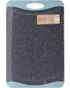 Skærebræt nylon granitlook - 36x24 cm