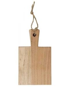 Skærebræt Akacietræ Ø25cm - Firkant