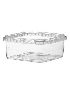 Stabelbar opbevaringsboks i plast 1,3L