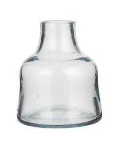 Vase mundblæst 13x11cm